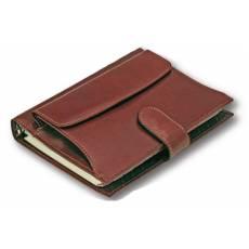 Ежедневник формата А5 в обложке с карманом Giulio Barca 78214