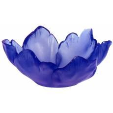 """Ваза для фруктов """"Tulipe"""" фиолетовая Daum 03228-2"""