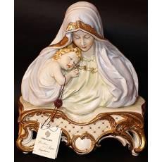 """Бюст """"Мадонна с ребенком"""" Porcellane Principe 1032BP/PP"""
