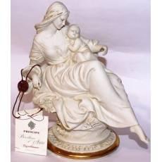 """Статуэтка """"Мама с дочкой"""" Porcellane Principe 781B/PP"""