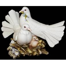 "Статуэтка ""Пара голубей"" Porcellane Principe 717/PP"