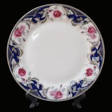 "Набор из 6-ти десертных тарелок ""Розы"" Glance J11-193WS-PL3"