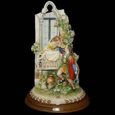"""Статуэтка """"Ромео и Джульетта"""" Porcellane Principe 734/PP"""