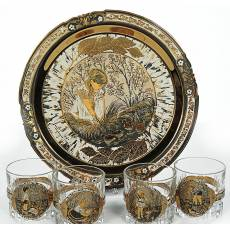 "Набор для виски ""Березовый сок"" Златоуст RV0012113CG"