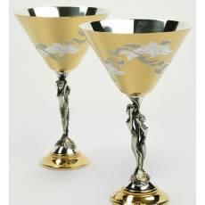 """Набор бокалов для мартини """"Грация"""" RV14945CG"""
