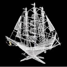 "Модель из стекла ""Каравелла"" RV0012365CG"