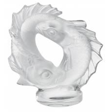 "Статуэтка ""Две рыбки"" Lalique 1162200"