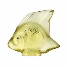 """Статуэтка """"Рыбка"""" желтая Lalique L3002400"""