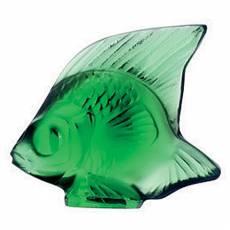 """Статуэтка """"Рыбка"""" зеленая Lalique 3001000"""