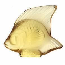 """Статуэтка """"Рыбка"""" золотая Lalique 3002900"""
