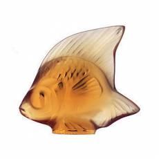 """Статуэтка """"Рыбка"""" коричневая Lalique 3000700"""