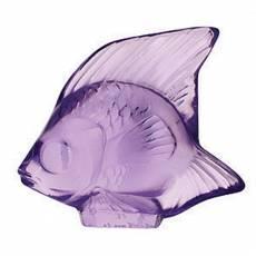 """Статуэтка """"Рыбка"""" лиловая Lalique 3003000"""