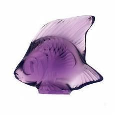 """Статуэтка """"Рыбка"""" фиолетовая Lalique 3000600"""
