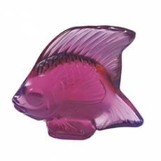 """Статуэтка """"Рыбка"""" фуксия Lalique 3003400"""