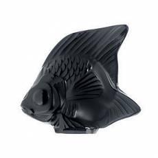 """Статуэтка """"Рыбка"""" черная Lalique 3000100"""