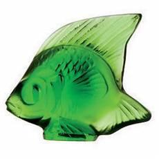 """Статуэтка """"Рыбка"""" ярко-зеленая Lalique L3003200"""