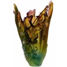 """Ваза для цветов """"Cattleya by Emilio Robba"""" (h=42) Daum 03765"""