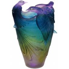 Ваза для цветов Oiseaux de Paradis Daum 03963