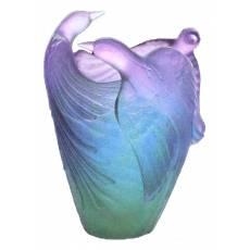 Ваза для цветов Oiseaux de Paradis Daum 03974-1