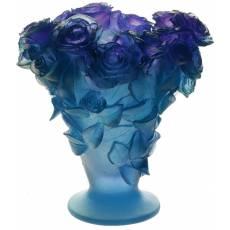 "Ваза для цветов ""Roses"" фиолетовая Daum 03547-2"