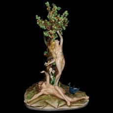 """Скульптура """"Адам и Ева"""" Elite & Fabris 2128/EL"""