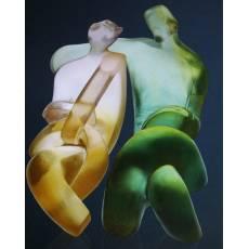 """Скульптура """"Рандеву"""" 375 экз. Daum 03995"""