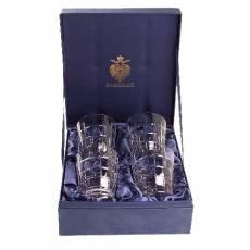 "Набор из 4-х стаканов для виски ""Metropolitan"" FABERGE 431054"