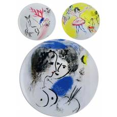 "Набор из 6-и обеденных тарелок ""Marc Chagall"" BERNARDAUD 13-6CollectionMarcChagall"