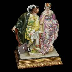 "Статуэтка ""Нет роз без шипов"" Porcellane Principe 758/PP"