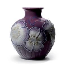 """Ваза для цветов """"Маки"""" Lladro 01008621"""