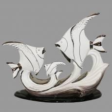 "Статуэтка ""Рыбки"" Ceramiche Ferraro B 43"