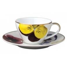 """Кофейная чашка с блюдцем """"Pensees"""" BERNARDAUD 79Pensees"""