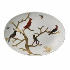"""Блюдо овальное """"Aux Oiseaux"""" BERNARDAUD 7424AuxOiseaux"""