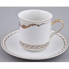 "Набор из двух чайных пар ""Rose & Ribbons (Savio Firmino)"" Rudolf Kampf 02140415-2274k"