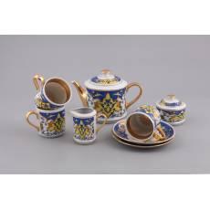 """Фарфоровый чайный сервиз """"Habibi"""" Rudolf Kampf  02160722-2010k"""