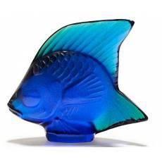 Рыбка кобальт Lalique 10363800