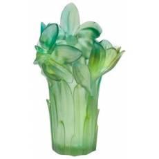 Ваза для цветов зеленая Daum 05175