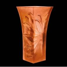 "Ваза для цветов Mandarin ""Lilies"" Daum 05125"