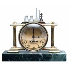 """Часы """"Миниатюрная модель электростанции"""" О-Э-24"""