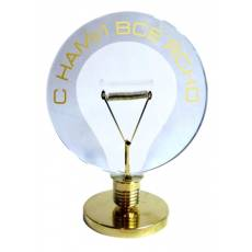 Сувенир в виде лампочки О-Э-25