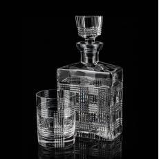 "Набор из штофа и 4-х стаканов для виски ""Царь Kirill"" Tsar FABERGE 451135"