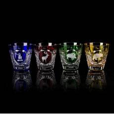 "Набор из 4-х стаканов для виски ""Hunt"" Tsar FABERGE 5481054"