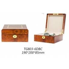 Шкатулка для хранения 6 часов Luxewood LW803-6-3