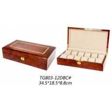 Шкатулка для хранения 12 часов Luxewood LW803-12-3