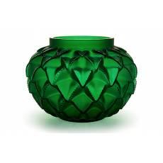 """Ваза для цветов зелёная малая """"Languedoc"""" Lalique 10488800"""