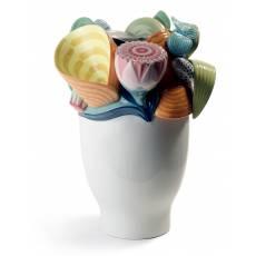 "Ваза для цветов ""Naturo"" Lladro 01007915"