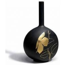 "Ваза для цветов ""Золотой цветок"" Lladro 01007073"