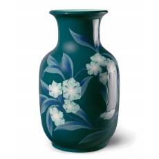 """Ваза для цветов """"С цветочным орнаментом"""" Lladro 01008724"""