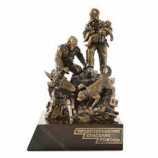 "Бронзовая статуэтка ""Памятник Спасателям"" RV0034720CG"