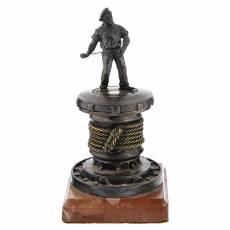 "Бронзовая статуэтка-пепельница ""Моряк"" RV0046924CG"